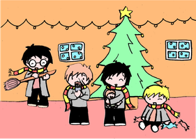A Marauder Christmas by GoldenPhoenix75