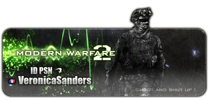 Call Of Duty ID PSN Card by Crazy-Sweet