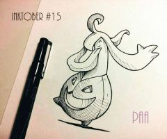 Inktober 2016 - 15 by Paa-H
