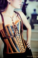 Steampunk corset by Costurero-Real