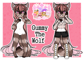 .:New Character-Gummy The Wolf:. by xXLady-LoverXx
