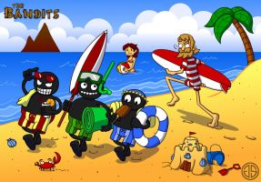 Bandits on Holiday by AdventureIslands