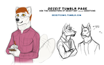 DECEIT TUMBLR ASK ACCOUNT by J-Harper