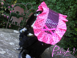 pink lolita headdress by PinkuArt