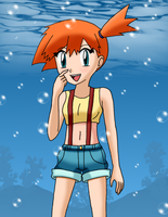 Aquatic Misty by sketchinnegro
