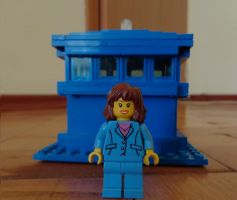 Custom Made SarahJane Smith Lego by PCamenzind
