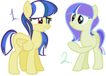 Sister pegasus adoptables (closed) by specs117