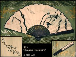 """Dragon Mountains"" by kiohl"