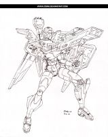 BLITZER MECH - PENCILS by DSNG