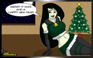 Merry X-Mas 2009 by NormanSanzo