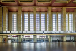 13-10 Tempelhof  -  main hall 3 by evionn