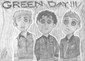the GREEN DAY guys by Dogluvr