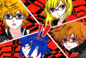 Kingdom Hearts/Persona 4 Crossover All Out Attack! by SummonerDagger88