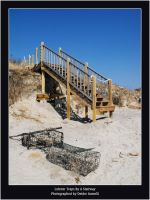 Lobster Traps By A Stairway by ScaperDeage