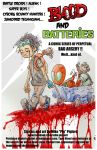 Blood and Batteries poster by pigmanga