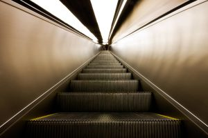 Escalator III by CalleHoglund