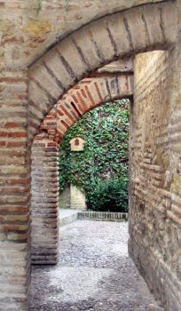 Allyway in Cordoba by firecrotch22