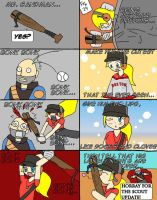 TF2: Scout Girl's Mr. Sandman by Selecthumor