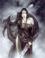 Luis Royo in Warrior14 by magsou