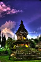 Bedugul temple in HDR by FirstMeasure