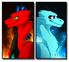 Fire and Ice by Kelskora