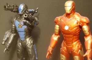 Stormhawk and Iron Man-Closeup by Roguewing