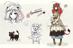 [CLOSED] Mamemamono Adopt ver. Lioness by mayoujii