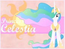 Princess Celestia Background by MLPonyBackgrounds