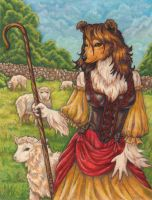 Shepherdess-Commission Final by stephanielynn