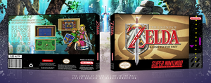 SNES Packaging Mockup #1 - TLOZ A Link to the Past by BenBrownDesign