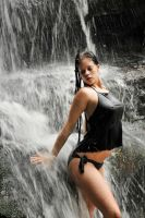 Stacey - waterfall black revisited 1 by wildplaces
