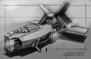 Cruiser concept by TheFirstNotorian