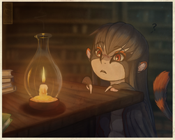 The Lit Candle by shorty-antics-27