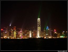 Hong Kong Skyline 1 by twodogs239