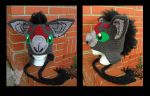 Axel Bat Hat by TheCrochetDragon
