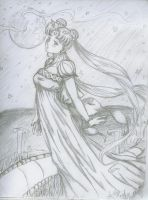 Princess Serenity of the Moon by keeper-of-agony