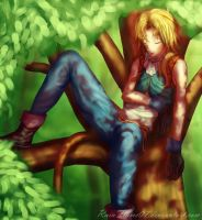 Tree Nap by x-RainFlame-x