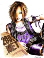 Uruha The GazettE by Kanon12
