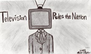 Television rules the NationWIP by Michiyo-Nakashima