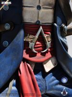Connor - Assassin's creed III (detail) by attakuscollection