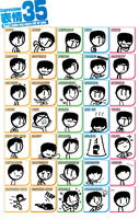 35 Expressions of Jack (B:DA Version) by Number9Robotic