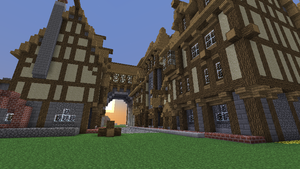 Proceed on Thorm (medieval minecraft city) by Nosh0r