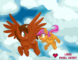 Flying Lessons Commission by ladypixelheart