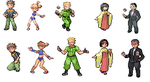 GYM trainers remake sprites by art-56