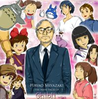 The Many Faces of Ghibli by DDR-Gurl-Melanie