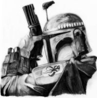 Star Wars - Boba Fett by deathlouis