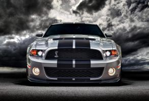 SilverBlack Shelby GT500 by lovelife81