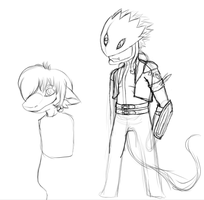 Digimon masters online fanart i will never finish by Cinderbutt