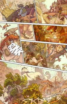 Project Waldo - Page 8 color by hughferriss