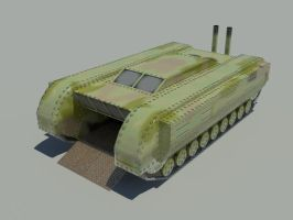 Lowpoly Game Vehicle by sadypisten